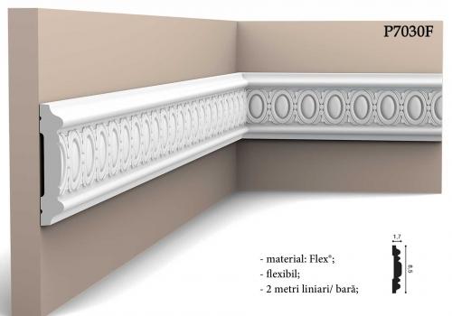 Bagheta decorativa flexibila cu detalii Orac Decor P7030F