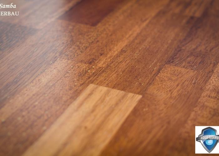Parchet din lemn triplustratificat MERBAU gama SAMBA