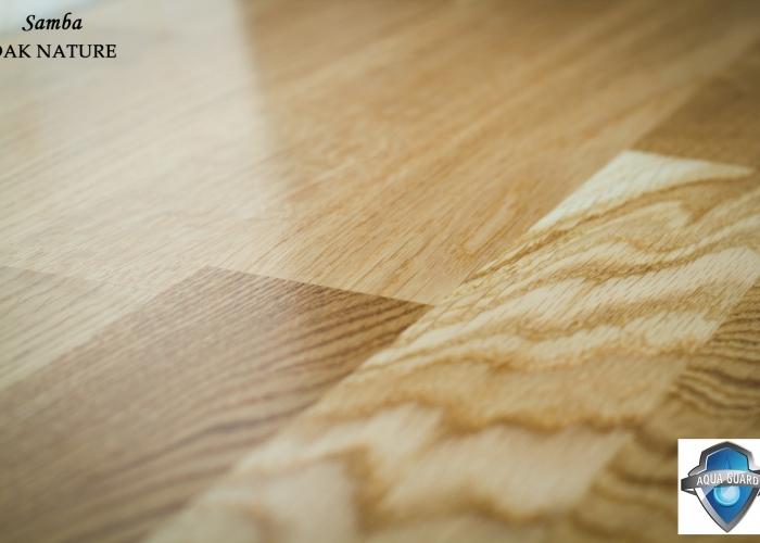 Parchet din lemn triplustratificat STEJAR gama SAMBA productie TARKETT