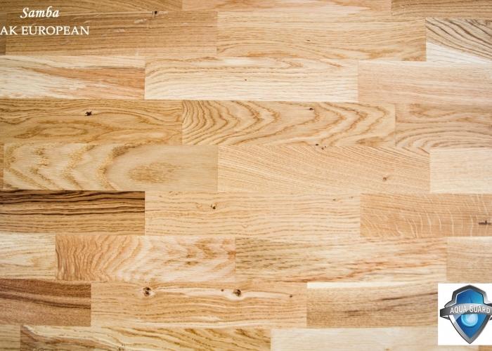 Parchet din lemn triplustratificat STEJAR EUROPEAN gama SAMBA productie TARKETT