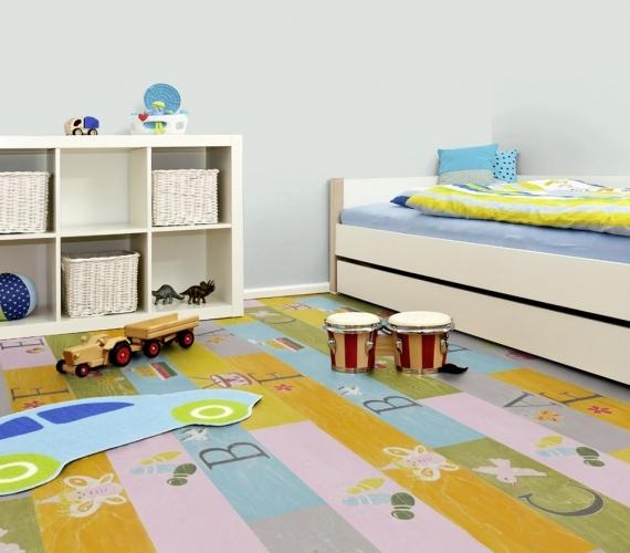 PLAYGROUND - Parchet laminat colorat pentru copii grosime 8 mm clasa trafic 32 / AC4