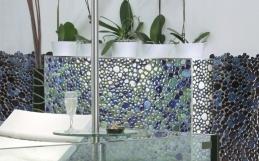 Mozaic din marmura colorata gama SILEX