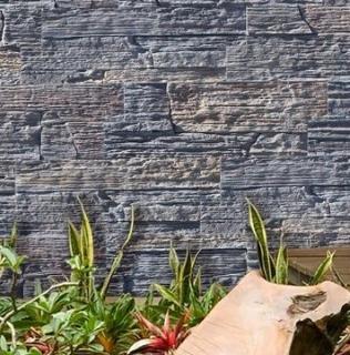 Beton decorativ cu aspect de caramida aparenta si lemn gama ANTIQ STONE