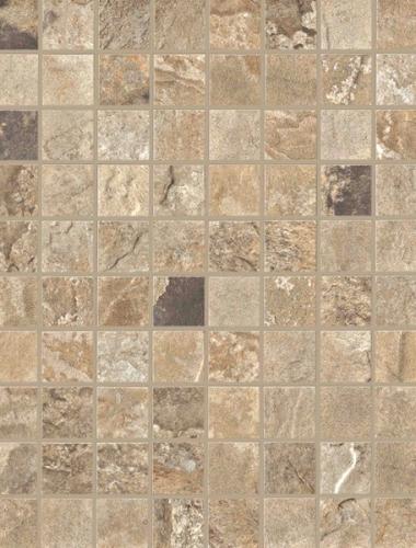 Placa decor gresie cu aspect de mozaic  AUTUMN MOSAICO