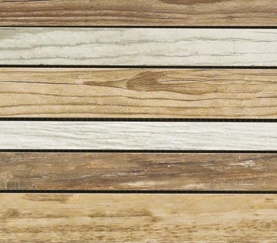 Mozaic din gresie imitatie lemn MURALES MIX B