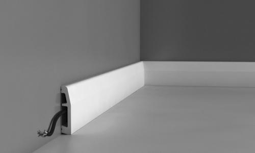 Plinta ORAC canal cablu din duropolimer