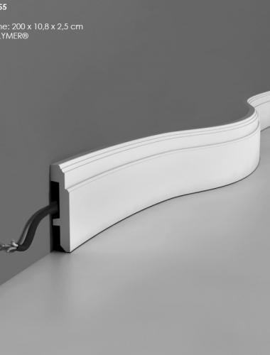Plinta flexibila din duropolimer ORAC cod SX155
