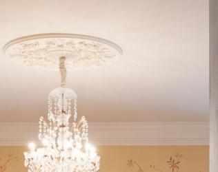 Rozete decorative pentru tavan gama LUXXUS