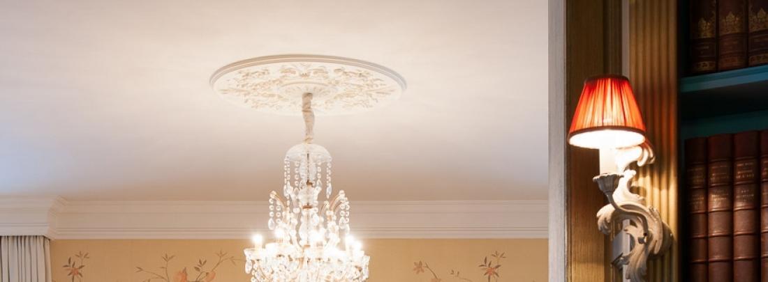Rozete decorative ORAC pentru tavan gama LUXXUS