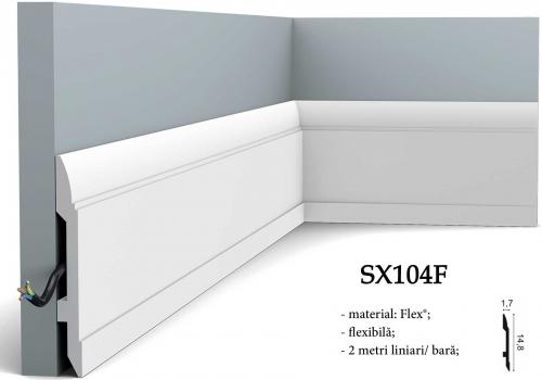 Plinta pentru mocheta Orac Decor SX104F