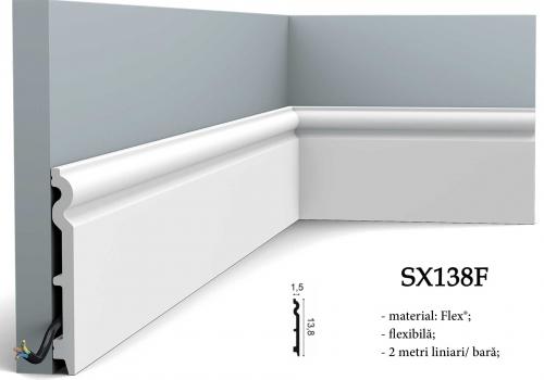 Plinta canal cablu Orac Decor SX138F