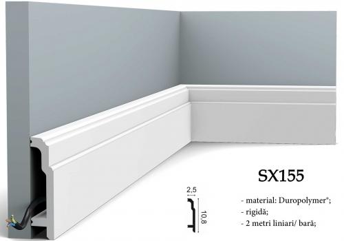 Plinta decorativa duropolimer Orac Decor SX155