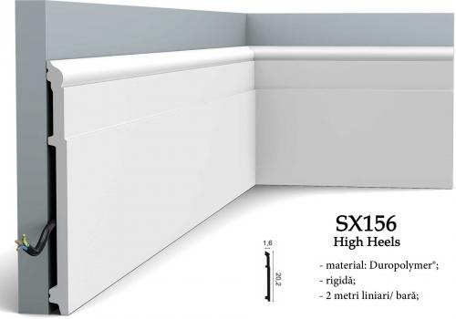 Plinta inalta canal cablu Orac SX156