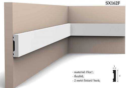 Brau decorativ simplu alb Orac Decor SX162F