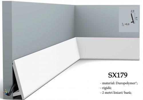 Plinta inclinata durpolimer Orac SX179