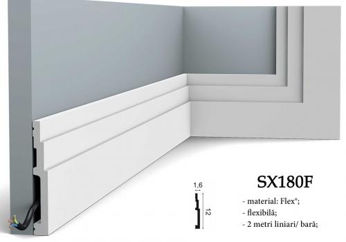 Plinta inalta flexibila decorativa din duropolimer Orac SX180F