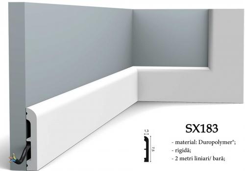Plinta Orac canal cablu SX183
