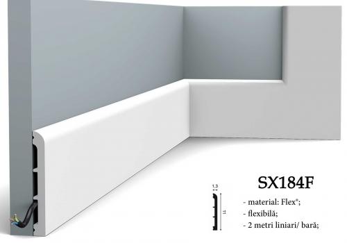 Plinta alba flexibila Orac SX184F