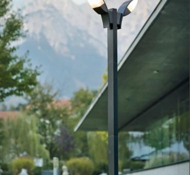 Stalp LED pentru iluminat stradal Panama cod 93523 Eglo - BLISS ART -