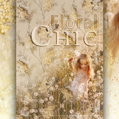Tapet CHIC FLORAL