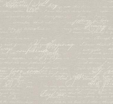 Tapet-bej-cu-scris-alb-mesaje-romantice-gama-FLORENTINE-2-cod-449556