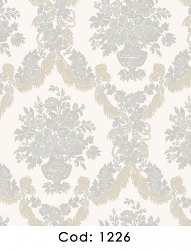 Tapet-bleu-stil-baroc-pentru-dormitor-si-living-gama-CARLOTTA-cod-1226