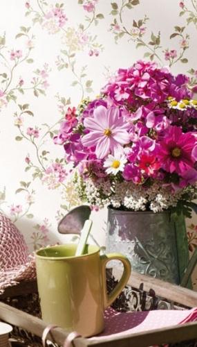 Tapet bucatarie stil boem model floral gama FIORI COUNTRY
