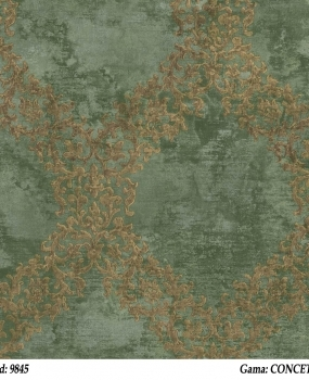 Tapet-clasic-verde-Cristiana-Masi-gama-CONCETTO-cod-9845