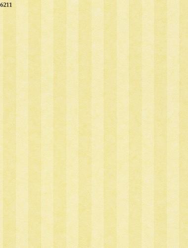 Tapet cu dungi galbene pentru copii gama VILLA COPENRATH