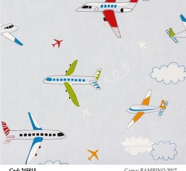 Tapet-copii-model-cu-avioane-gama-BAMBINO-2017-cod-245813