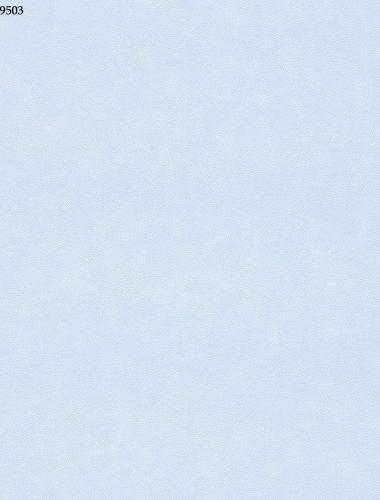 Tapet albastru simplu pentru copii gama VILLA COPENRATH