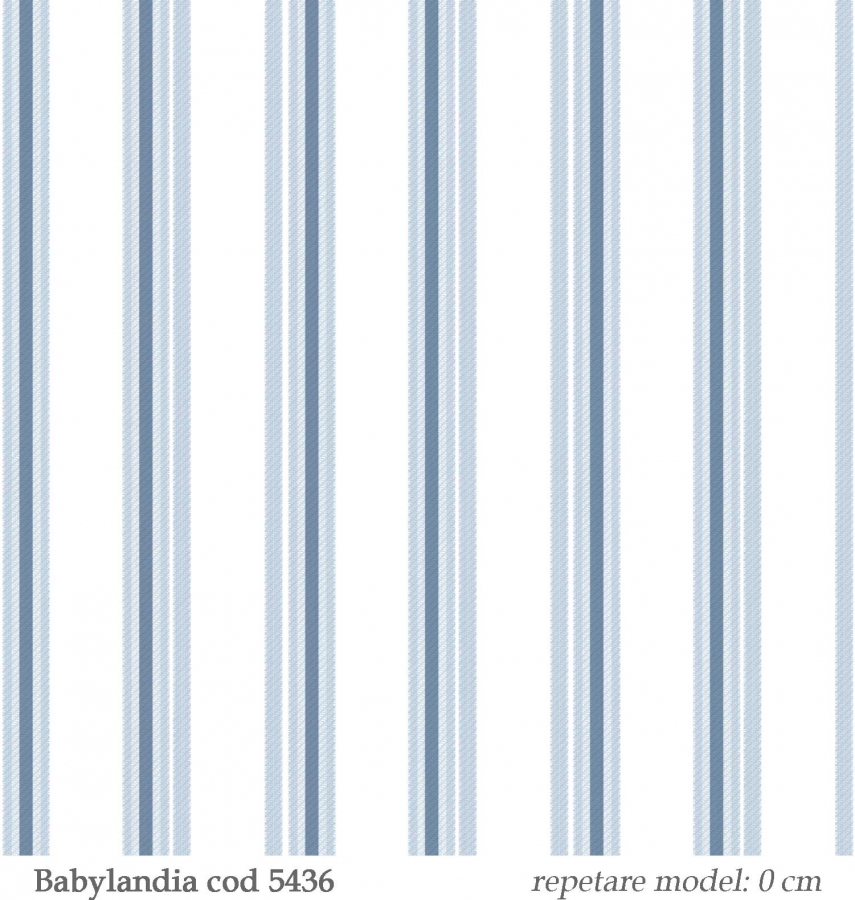 Tapet-cu-dungi-albastre-pentru-baieti--gama-Babylandia-cristiana-masi-cod-5436