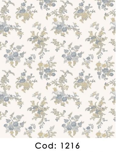 Tapet-cu-flori-albastre-pentru-dormitor-si-living-gama-CARLOTTA-cod-1216