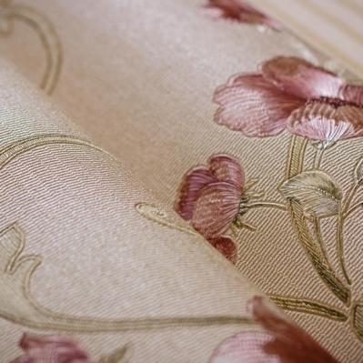 Tapet cu flori pentru dormitor si living din vinil lavabil gama DESIDERIA