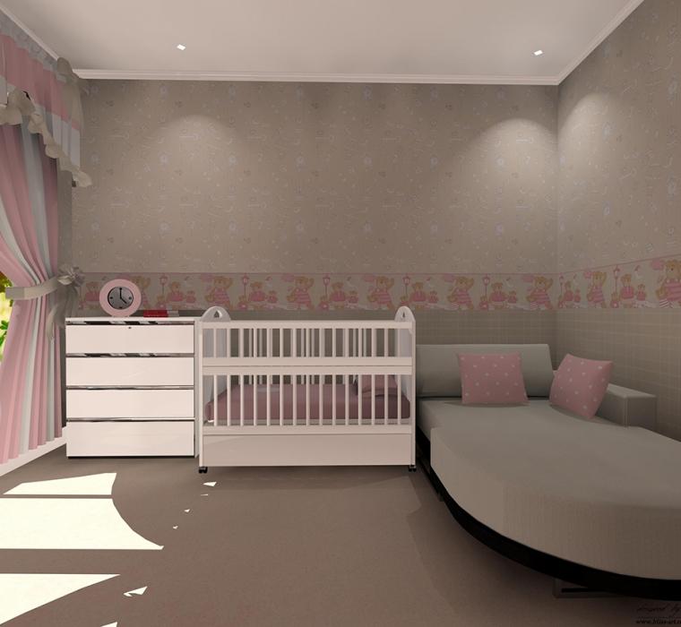 Tapet-cu-ursuleti-roz-pentru-camera-copii-gama-BIM-BUM-BAM-6