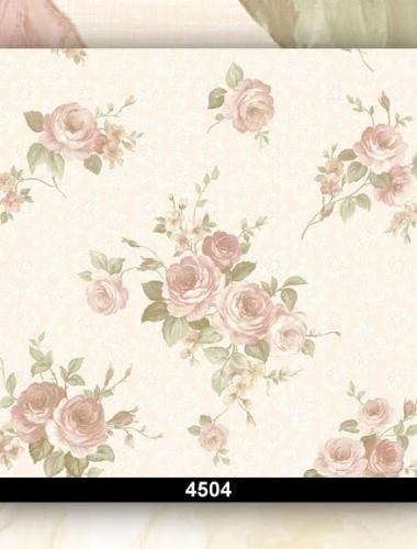 Tapet dantela cu flori pentru dormitor si living cod 4504