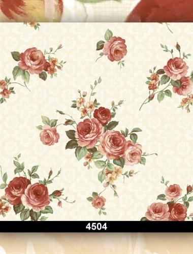Tapet dantela cu flori visinii cod 4508