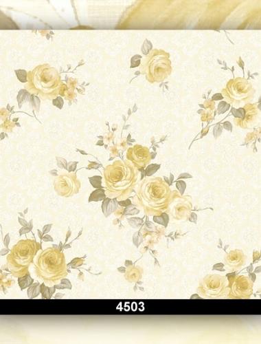 Tapet dantela cu trandafiri  pentru dormitor cod 4503