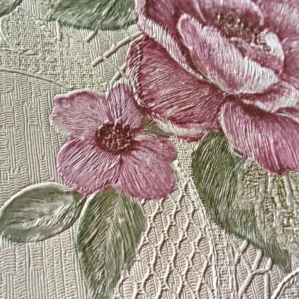 Tapet dantela model floral pentru dormitor si living gama UNICA 2 BLISS ART