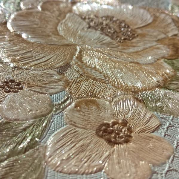 Tapet dantela model floral pentru dormitor si living gama UNICA BLISS ART 8