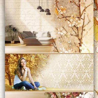 Tapet floral gama LINPHA