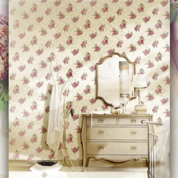 Tapet floral pentru dormitor gama UNICA