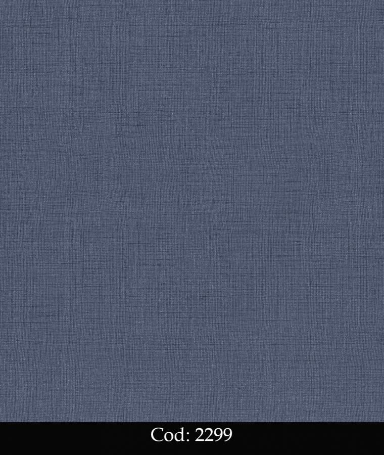 Tapet lavabil albastru simplu pentru copii cod 2299 gama BIM BUM BAM - BLISS ART