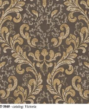 tapet-lavabil-clasic-gri-inchis-cod-5848-victoria-bliss-art-design
