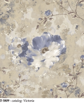 tapet-lavabil-cu-flori-albastre-cod-5809-victoria-bliss-art-design