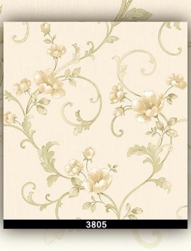 Tapet lavabil cu flori pentru dormitor si living gama DESIDERIA cod 3805