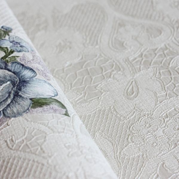 Tapet lavabil dantela model floral gama UNICA