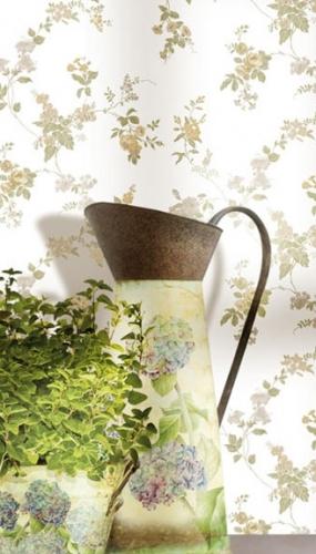 Tapet lavabil floral pentru bucatarie gama FIORI COUNTRY