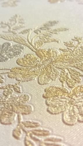 Tapet lavabil floral pentru dormitor gama CARLOTTA productie PARATO Italia