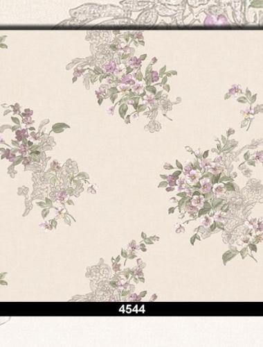 Tapet lavabil floral pentru dormitor si living 4544